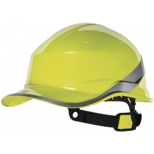 Casco De Obra Baseball Diamond Amarillo