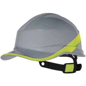 Casco De Obra Baseball Diamond Gris