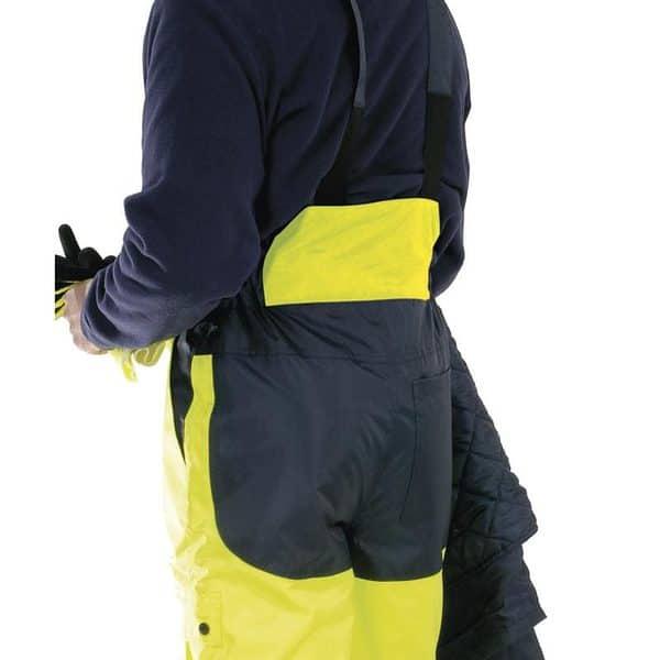 Pantalon Acolchado Alta Visibilidad Fargo Detalle Espalda