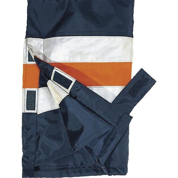 Pantalon Acolchado Alta Visibilidad Fargo Detalle Tejido