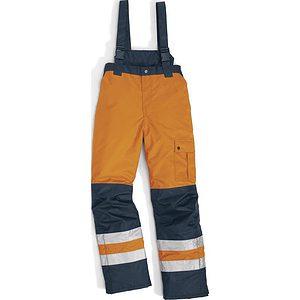 Pantalon Acolchado Alta Visibilidad Fargo Naranja