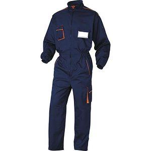 Buzo Trabajo M6com Azul Marino Naranja