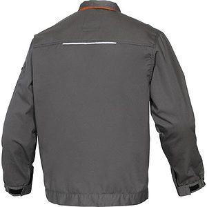 Chaqueta Trabajo M2ve2.gris Espalda