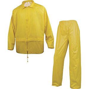 Conjunto Lluvia Pvc En400 Amarillo