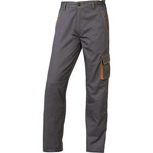 Pantalon Trabajo M6pan Gris Naranja