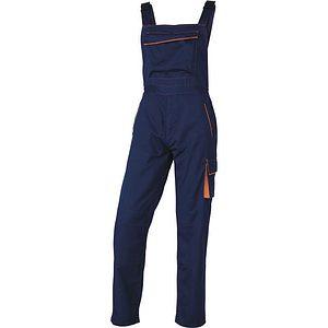 Pantalon Trabajo Tirantes.m6sal Azul Naranja