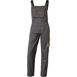 Pantalon Trabajo Tirantes.m6sal Gris Naranja