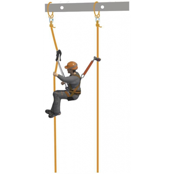 KIT TRABAJOS VERTICALES ROPE ACCESS KIT TC039