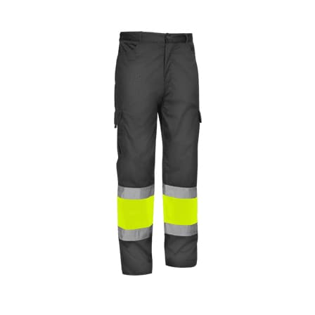 Pantalón Alta Visibilidad Wind2 gris