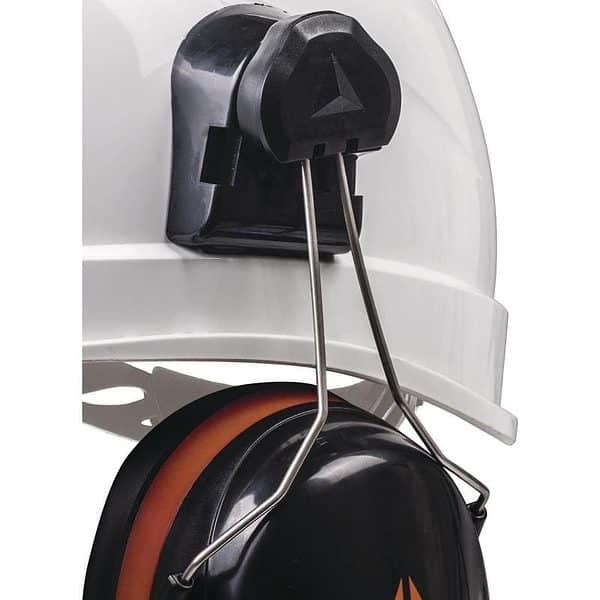 cascos antiruido para cascos de obra detalle