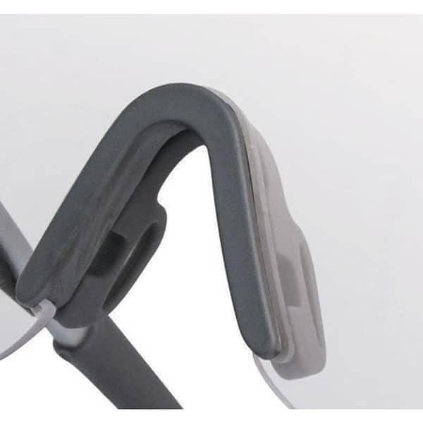 gafas deportivas monobloque THUNDER smoke puente nasal
