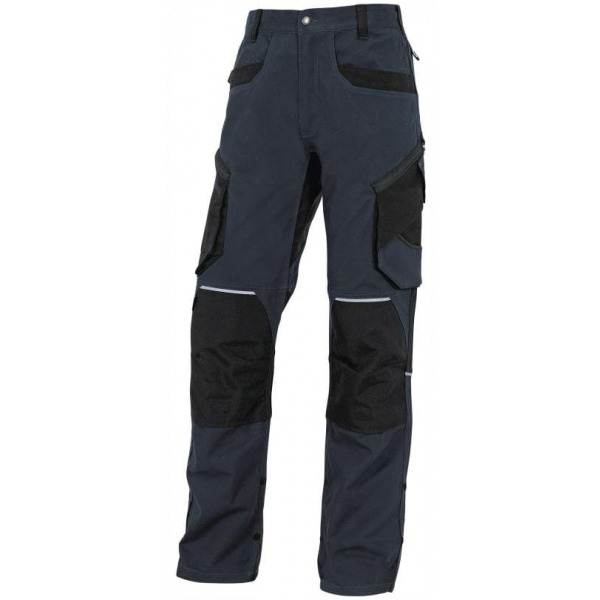 Pantalon Trabajo Algodon Mopa2 Azul
