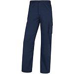 Pantalon Trabajo Algodon Paligpa Azul
