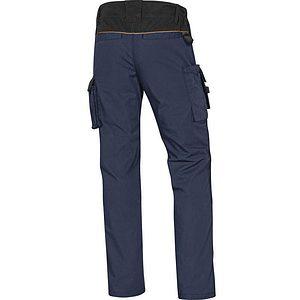 Pantalon Trabajo Mcpa2 Azul Negro Trasera