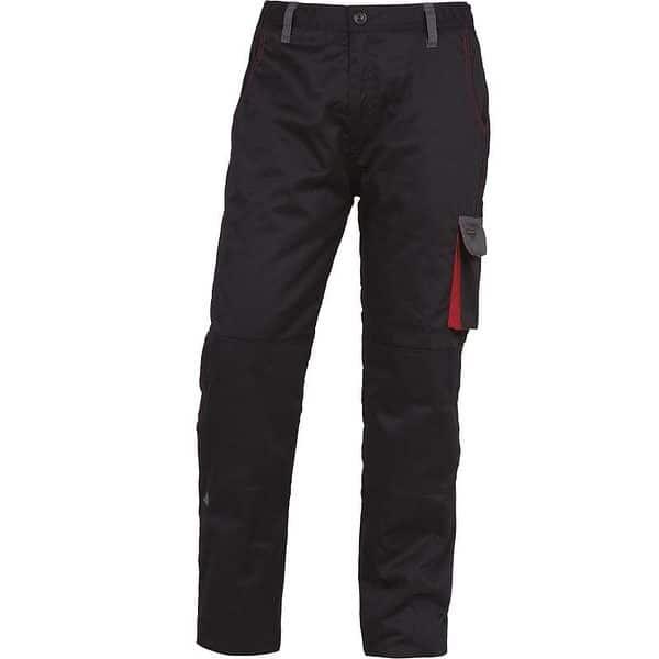 Pantalones Acolchados Dmpawnegro Rojo