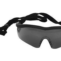 SAFETY GOGGLES SPORT DARK UV PROTECTION